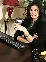 Secretary Sex, India Summer,My First Sex Teacher,India Summer, Kris Slater, Momma, Teacher, Desk, Office, Black Hair, Blow Job, Deepthroating, Facial, High Heels, Lingerie, Mature, MILFs, Natural Breasts, Small Tits, Stockings,