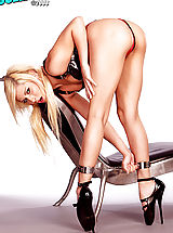 Green Heels, Angular and lean, submissive vixen Madison Ivy plays her role purrrfectly!