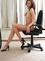Open Legs, Astonishing Angel at Work