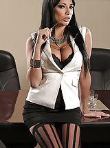 fishnet tights, Anissa Kate, Johnny Sins in Anissa Kate: C.E.Ohhh!