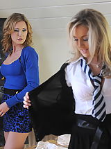 Secretaries in High Heels Becky Roberts and Miss Sam in December 11