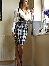 Office Sex, Secretaries in High Heels Headmistress Mackenzie 1 in July 2011