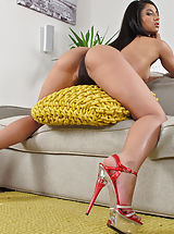 High Heel Mules, Wet Pussy Shots really close, set no 900 Ria Rodriguez