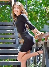 High Heels, Breathtaking Woman Adria Two Kinds Of Rides