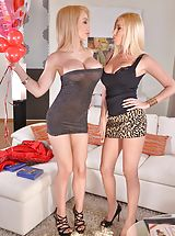 Sexy Heels, Dona Bell, amp; Chessie Kay