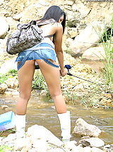 Asian Women sharon 04 fishing puffy nipples