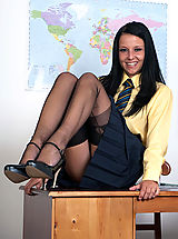 Office Sex, Kimmy - Using the 'C' word...in class!