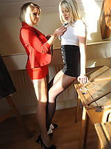 Secretaries in High Heels Danielle Mayes and Miss Abigail 2 in October 2011