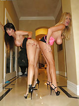 High Heel Mules, Kelly Madison, Ryan Madison, Eva Karera