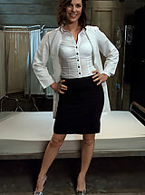 Secretaries, Bobbi Starr gets double penetrated in bondage and role play.