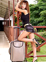 Asian Women tatiana tein 02 stewardess
