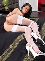 Six Inch Heels, Soaked Slit of 851 Candy Sweet