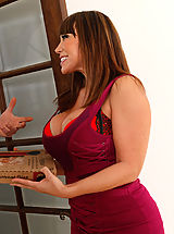 Ava Devine has rough sex with big cocked stud and loves the pounding she gets.