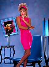 Jisel's a beautiful, california blonde with an amazing body - not only did she make Penthouse Pet but also crossed over to mainstream television.