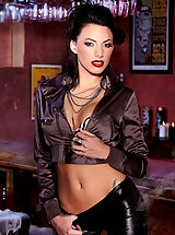 Juelz Ventura is smoking hot in this set...literally! Devilish, sinful and utterly decadent!