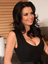 Office Sex, Busty gorgeous mom Veronica Avluv has hot sex with big cocked friend of her son.