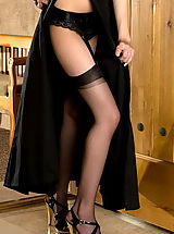 black stocking, Ami Starr