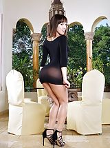 Disrobed Wicked Lady in Shooting 1244 Jenna Sativa Guiltless appearing female seems to become a true tricky whore, she peels down her clothing, showing her simple nipples, elevates up her small skirt and pulls down her panties, to reveal her virgo alike m