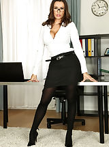 Secretary Fuck, Colossal Curves, Spunk For Keisha