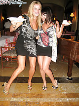Classy Legs, After dinner in Cabo, Kelly and Ryan want some dessert so they go back to their room with Sienna West.