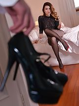 Stiletto Heels, Misha Cross