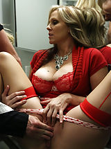 lingerie models, Julia Ann, Kelly Madison, Ryan Madison