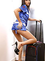 Platform Heels, Asian Women monica chow 14 stewardess