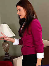 Gorgeous MILF India Summer is horny and decides to get fucked by one of her sons friends.